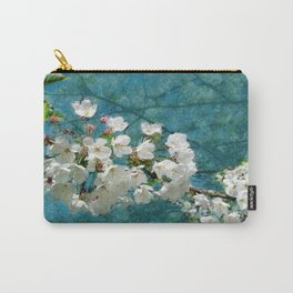 Blossom Textured Carry-All Pouch