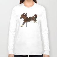 kili Long Sleeve T-shirts featuring Kili by MarieJacquelyn
