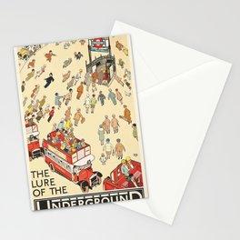 London Underground Vintage Stationery Cards