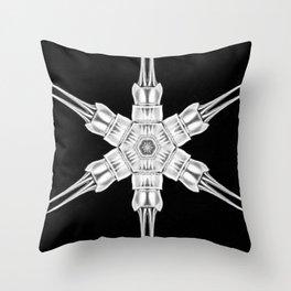 Ninja Star 1 Throw Pillow