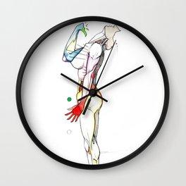 To Heaven, nude female dancer, NYC artist Wall Clock
