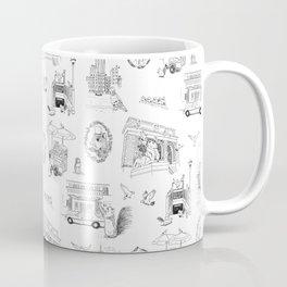 Squirrels and Pigeons take NY Coffee Mug