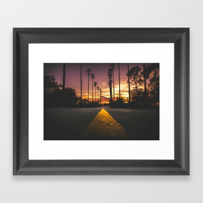 California Dreamin' Gerahmter Kunstdruck
