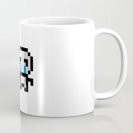 Thomas is not happy - Pixel Coffee Mug