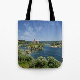 Almourol, Portugal Tote Bag