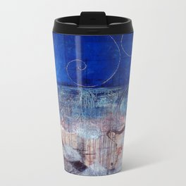 Chicxulub - Bluer version Metal Travel Mug
