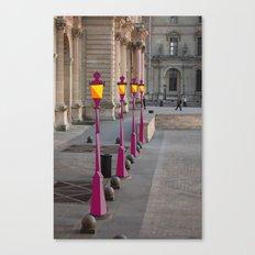 Lightposts Canvas Print