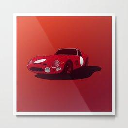 Ferrari GTO Metal Print