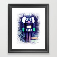 Chocolate dream Framed Art Print