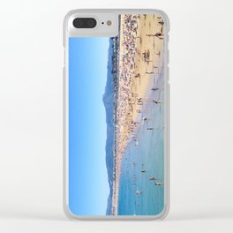 A BASQUE SUMMER Clear iPhone Case