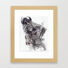 DeathStarr Framed Art Print