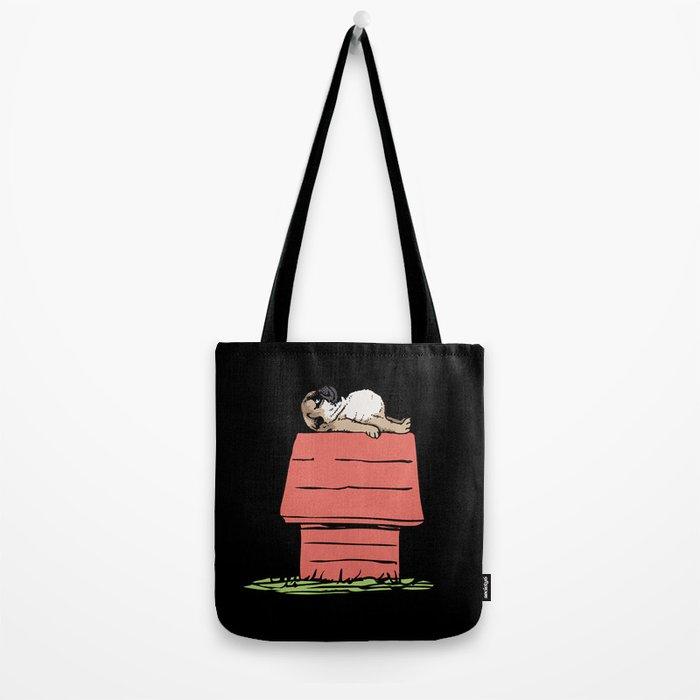 PUG HOUSE Tote Bag