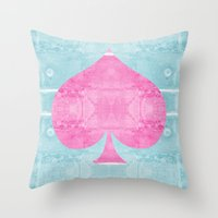 ace Throw Pillows featuring Ace by Espenbke