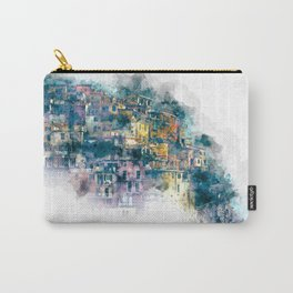 Houses village coast Italy Carry-All Pouch