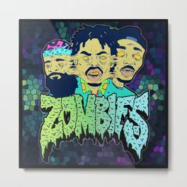 FLATBUSH ZOMBIES Metal Print