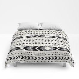 Tribal Arrow Boho Pattern #2 #aztec #decor #art #society6 Comforters