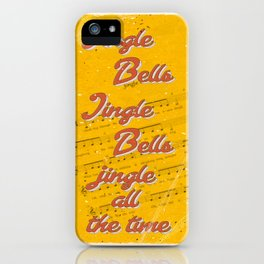 Jingle Bells #3 - A Hell Songbook Edition iPhone Case