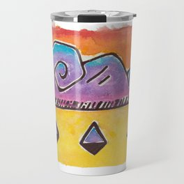 Swirly Stormy Cloud Travel Mug