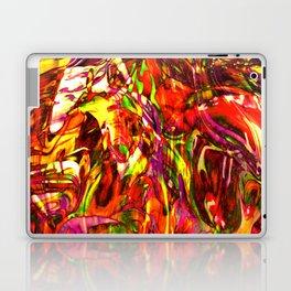 Fluid Painting (Yellow Version) Laptop & iPad Skin