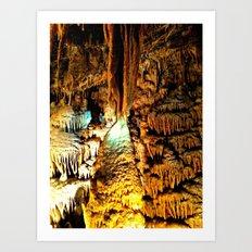 Cavern Beauty Art Print