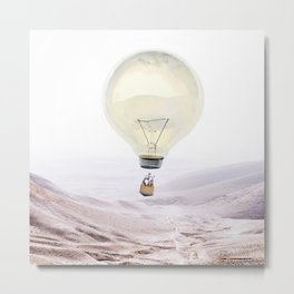 Bright Idea Metal Print