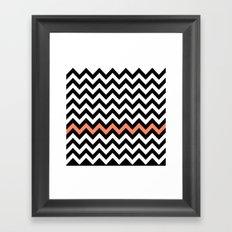 Classic Chevron #1 Framed Art Print