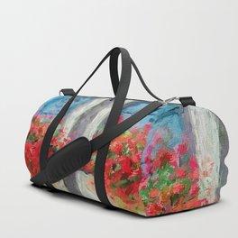 Windows painted Duffle Bag