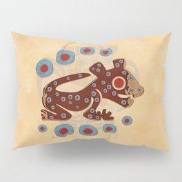 Mayan Baby Jaguar Folk Art Textile Pillow Sham