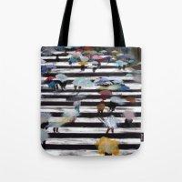 blur Tote Bags featuring Blur by KERPLUNK