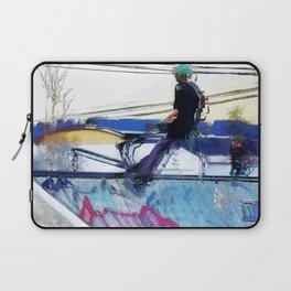 Hanging On  -  Stunt Scooter Artwork Laptop Sleeve