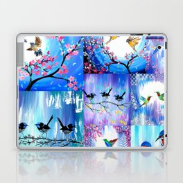 Purples and Blues Laptop & iPad Skin
