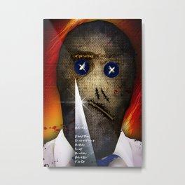 DAVID CRONENBERG SERIES :: NIGHTBREED Metal Print