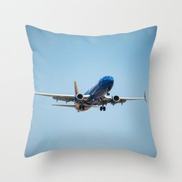Southwest Airlines Throw Pillow