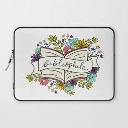 Floral Bibliophile V1 Laptop Sleeve