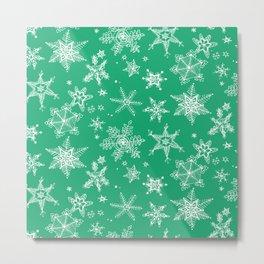 Snow Flakes 04 Metal Print
