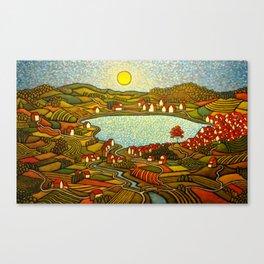 The Internal Landscape/ GC Myers Canvas Print