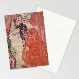 GIRLFRIENDS - GUSTAV KLIMT  Stationery Cards
