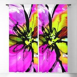 Ecstasy Bloom No.17e by Kathy Morton Stanion Blackout Curtain