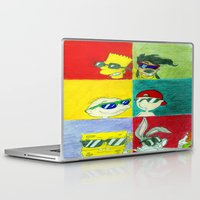 90s Laptop & iPad Skins featuring 90s Cool Kids by Artistic