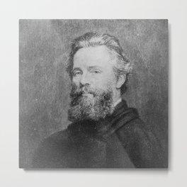 Joseph Oriel Eaton -portrait of Herman Melville Metal Print