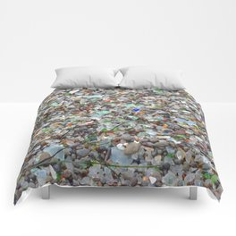 glass beach #2 Comforters