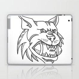 Bobcat American Football Mono Line Laptop & iPad Skin
