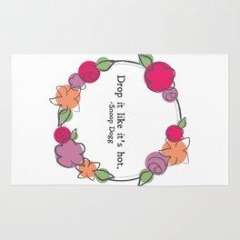 Floral - Drop It Rug