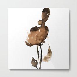 Flower Zen 6k by Kathy Morton Stanion Metal Print