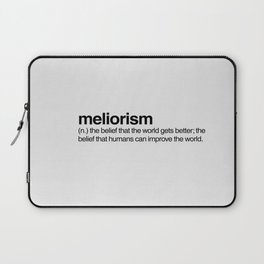 Meliorism Laptop Sleeve