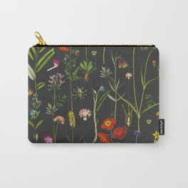 Exquisite Botanical Carry-All Pouch