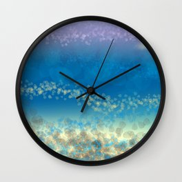 Abstract Seascape 03 wc Wall Clock