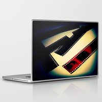 film Laptop & iPad Skins featuring Film by wendygray