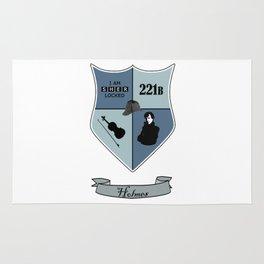 Sherlock Coat of Arms Rug