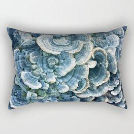 Blue fungi Rectangular Pillow